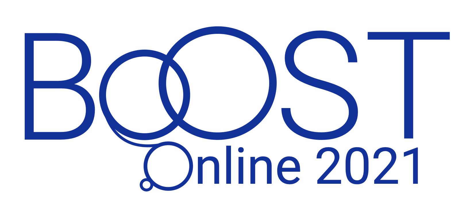 BOOST 2021 logo