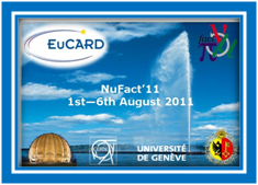 "NuFact""11 XIIIth Workshop on  Neutrino Factories, Superbeams and Beta-beams"