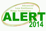 Advanced Low Emittance Rings Technology (ALERT) 2014 Workshop