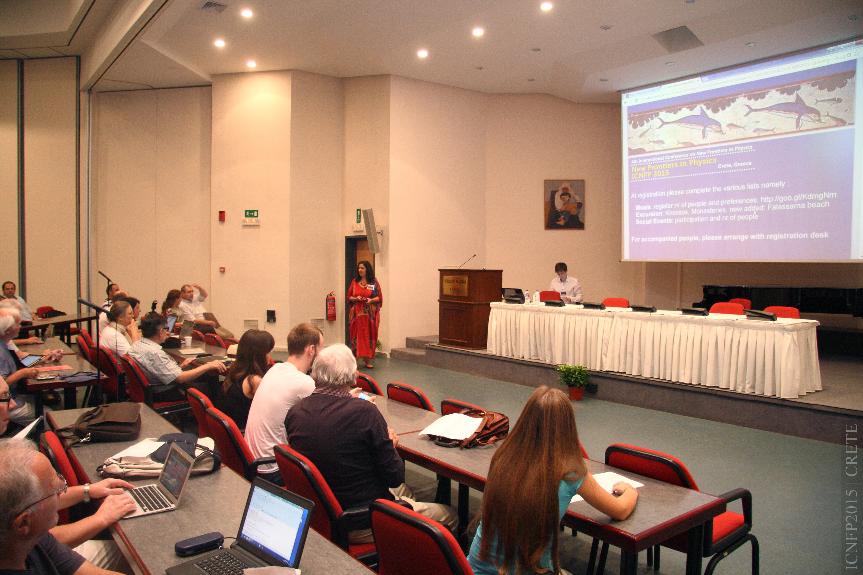 4th International Conference on New Frontiers in Physics ICNFP2015