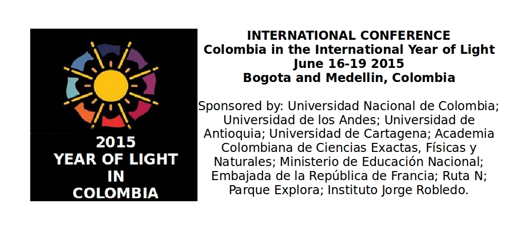 Colombia in the International Year of Light