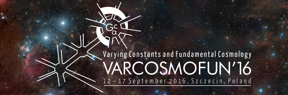 Varying Constants and Fundamental Cosmology – VARCOSMOFUN'16