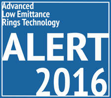 Advanced Low Emittance Rings Technology (ALERT) 2016 Workshop