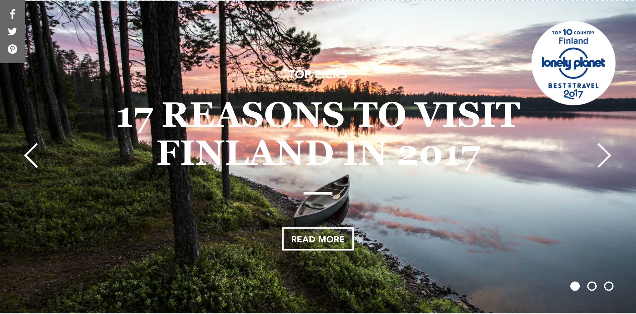 The Official Travel Guide of Finland