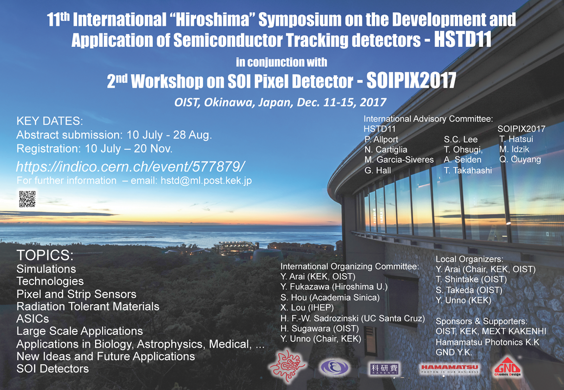 11th International Hiroshima Symposium On The Development And My Jfet Quartz Oscillator Public Circuit Online Simulator This Years Hstd Is Co Organized With Workshop Soi Pixel Detector Soipix To Benefit From Shared Human Research