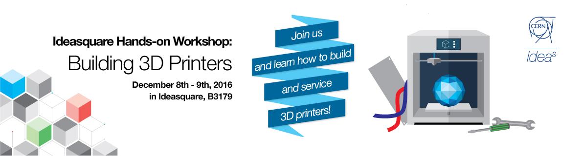 Building 3D Printers