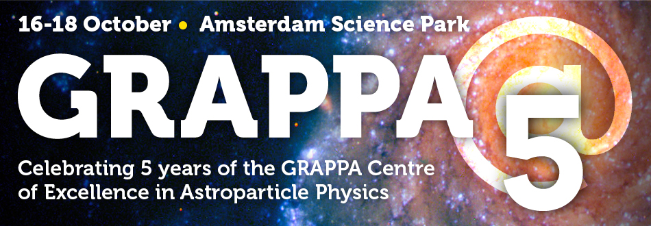 GRAPPA @ 5: Celebrating 5 years of astroparticle physics and cosmology in Amsterdam