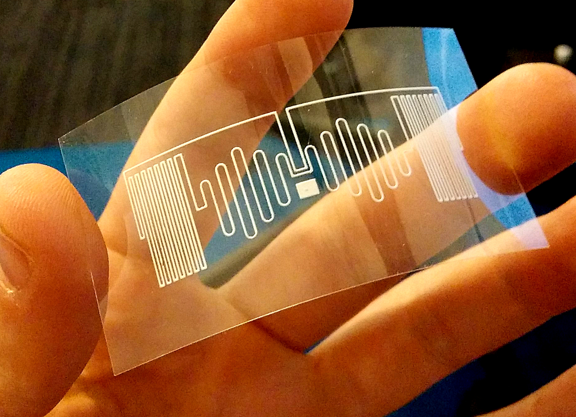 Printing on flexible material
