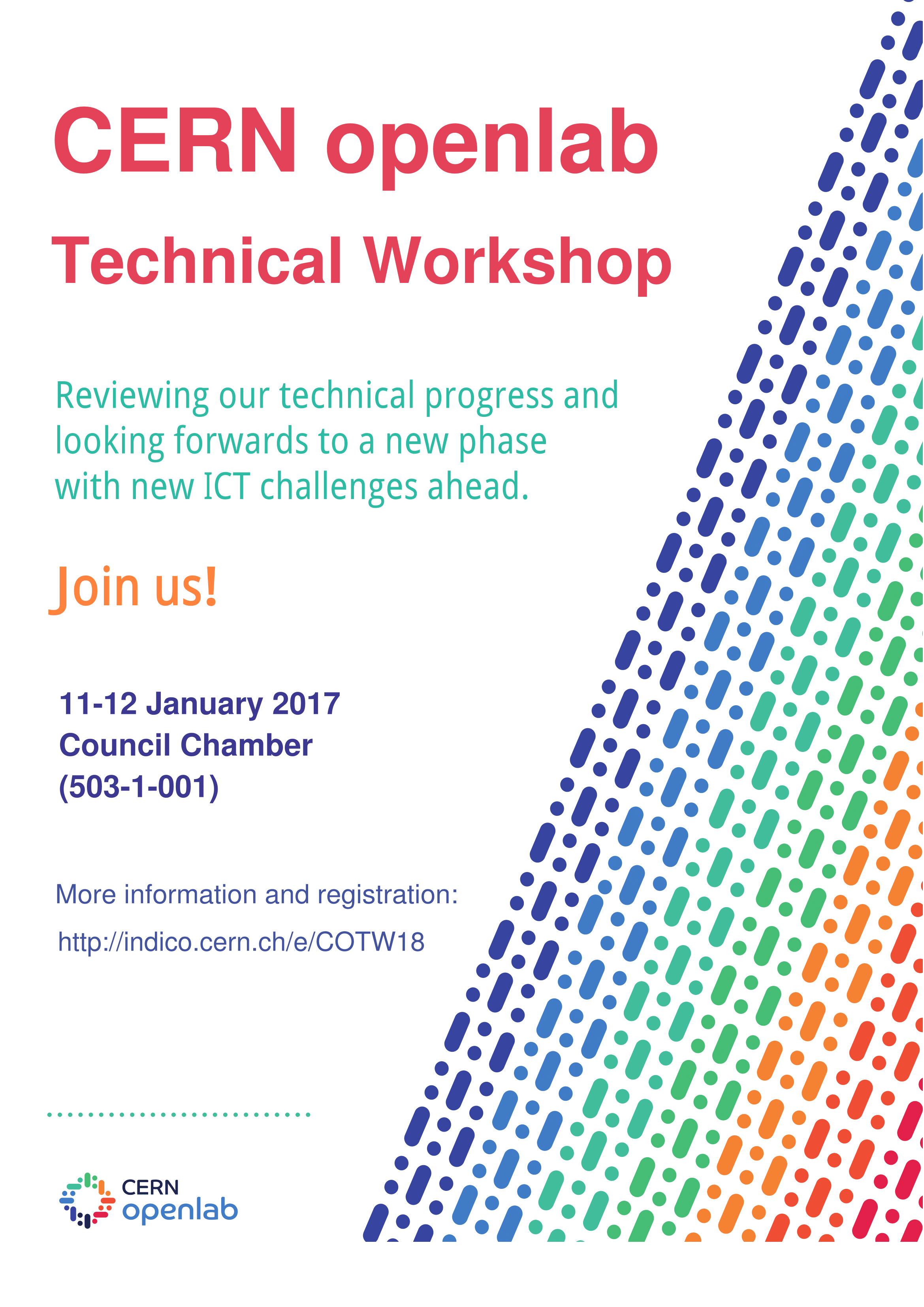 Cern Openlab Technical Workshop 11 12 January 2018