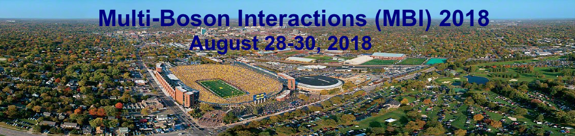 Multi-Boson Interactions Workshop at the University of Michigan