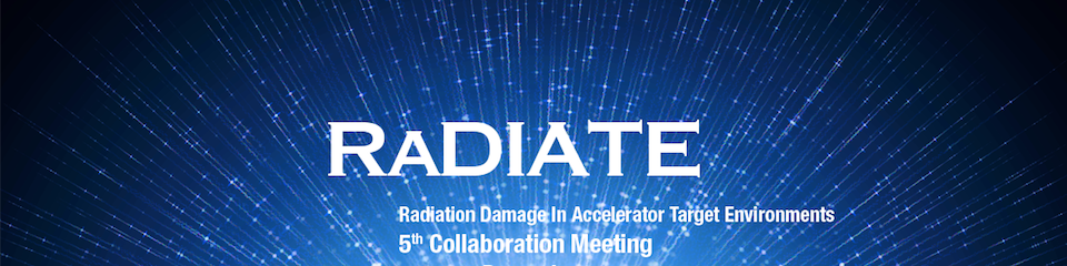 RaDIATE 2018 Collaboration Meeting