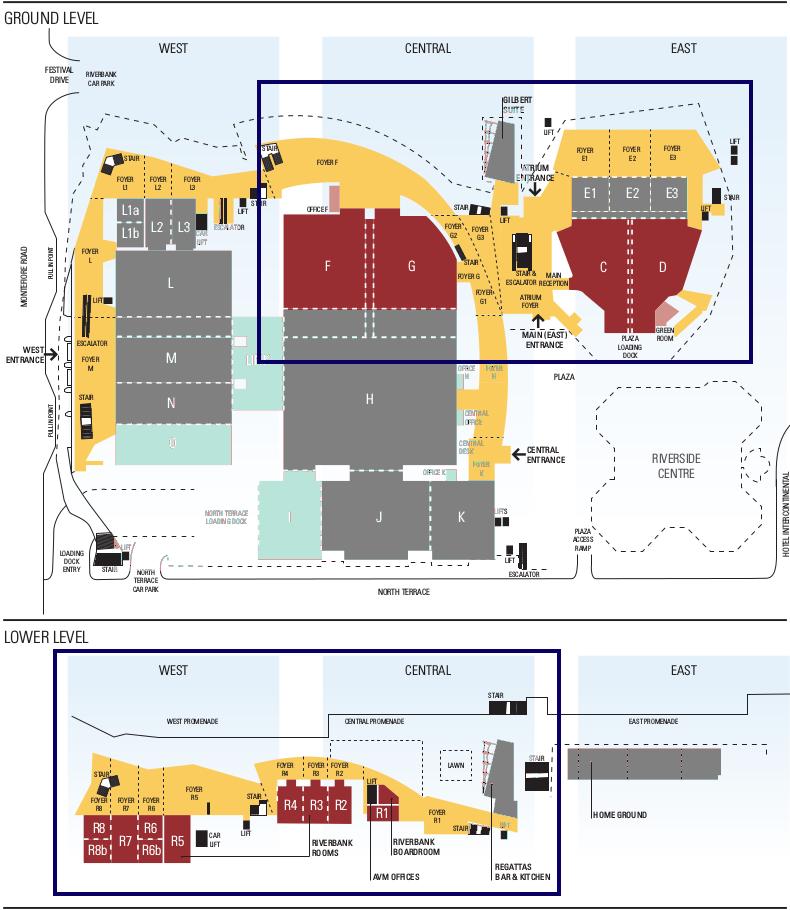 CHEP floor plan