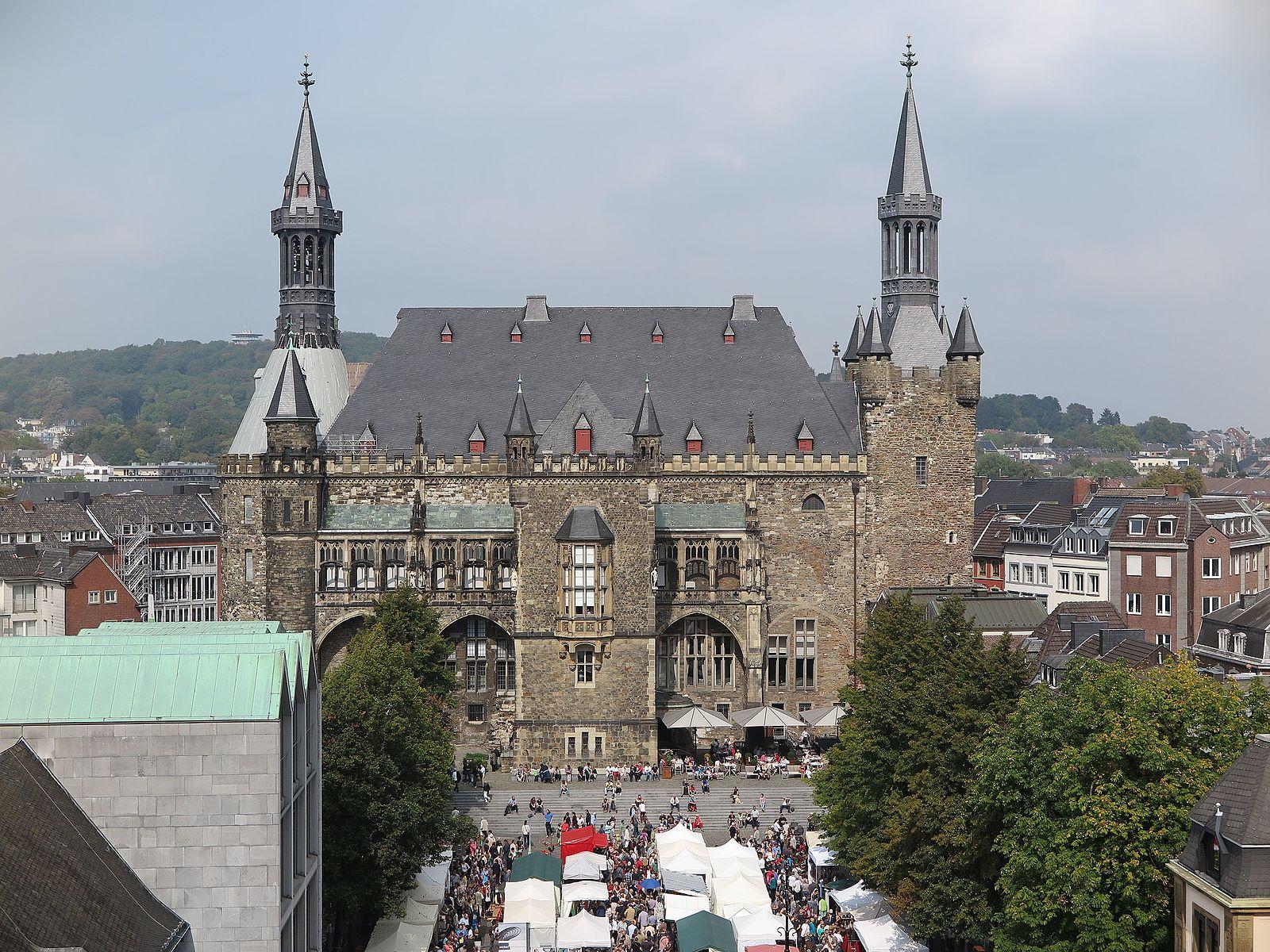 Photograph of the Aachen Rathaus