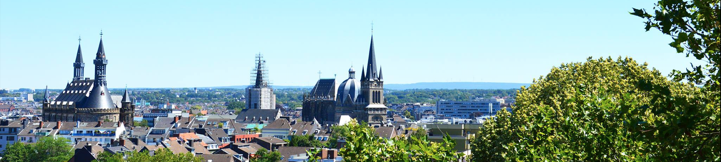 View of the Aachen Skyline