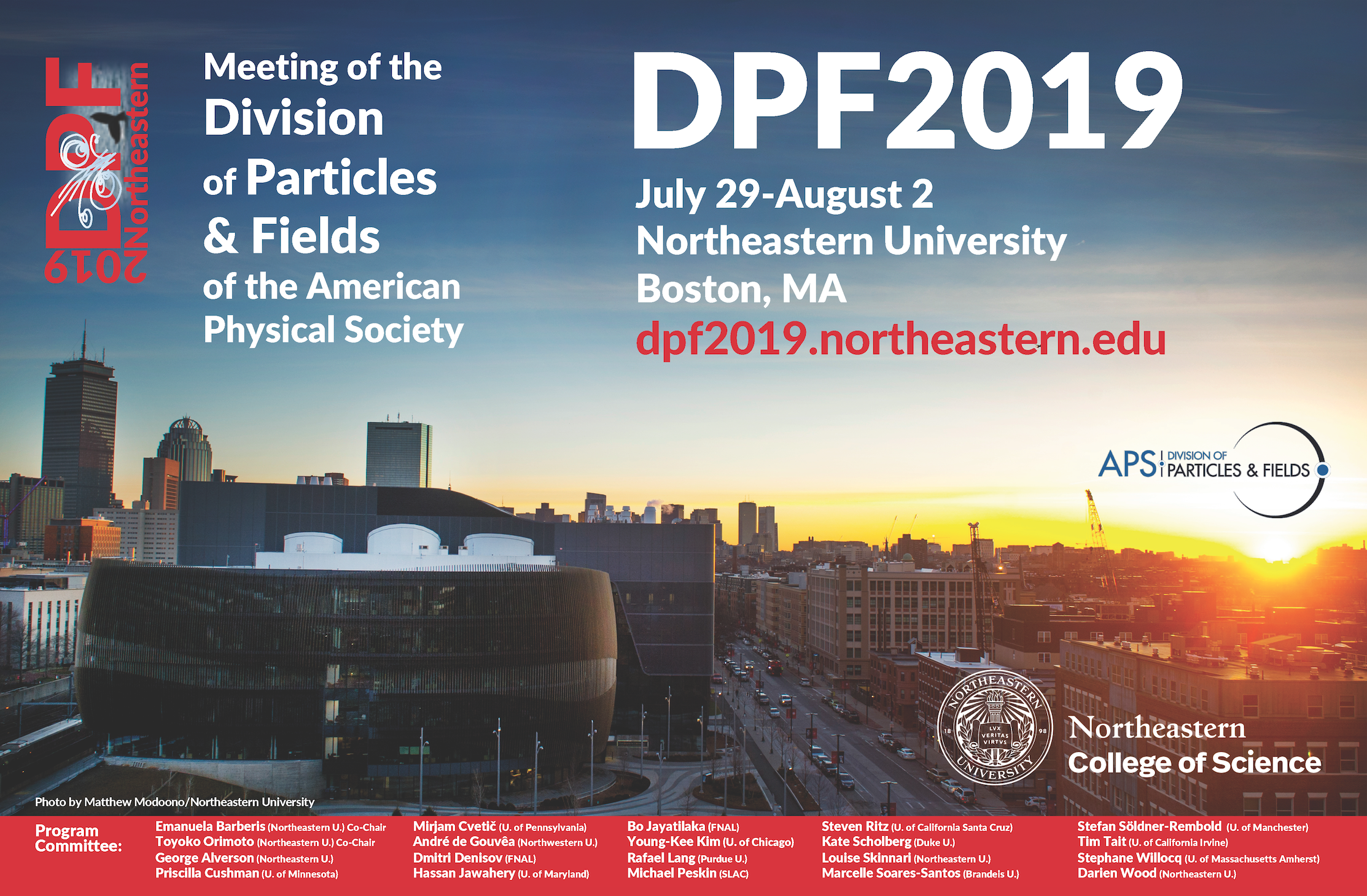 2019 Meeting of the Division of Particles & Fields of the