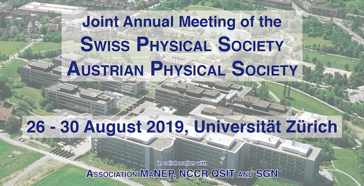Joint Annual Meeting of SPS and ÖPG 2019
