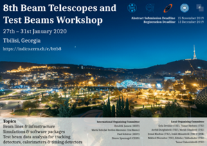 8th Beam Telescopes and Test Beams Workshop