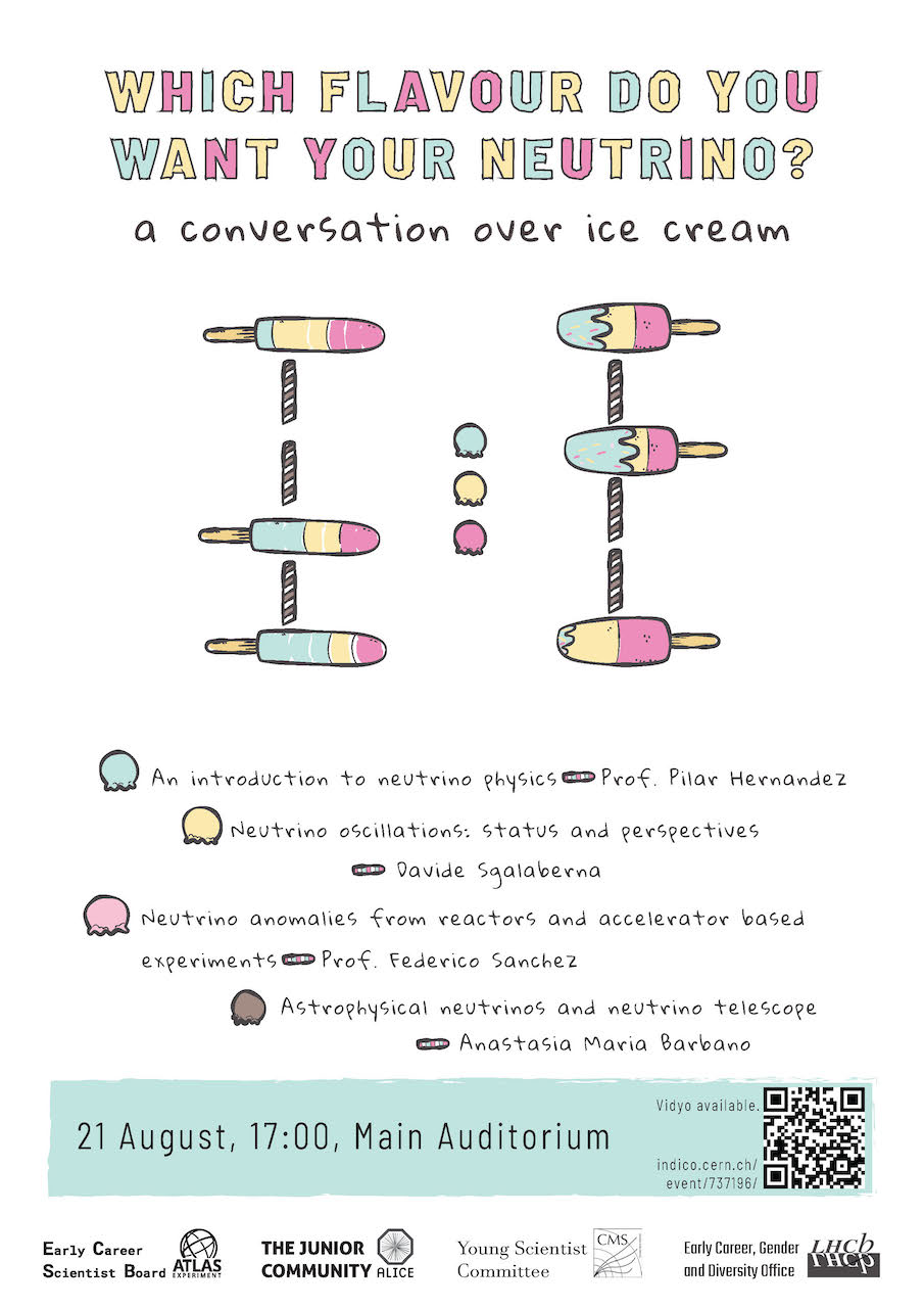 Which flavour do you want your neutrino? A conversation over ice cream