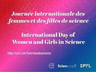 Journée internationale des femmes et des filles de science | International Day of Women and Girls in Science