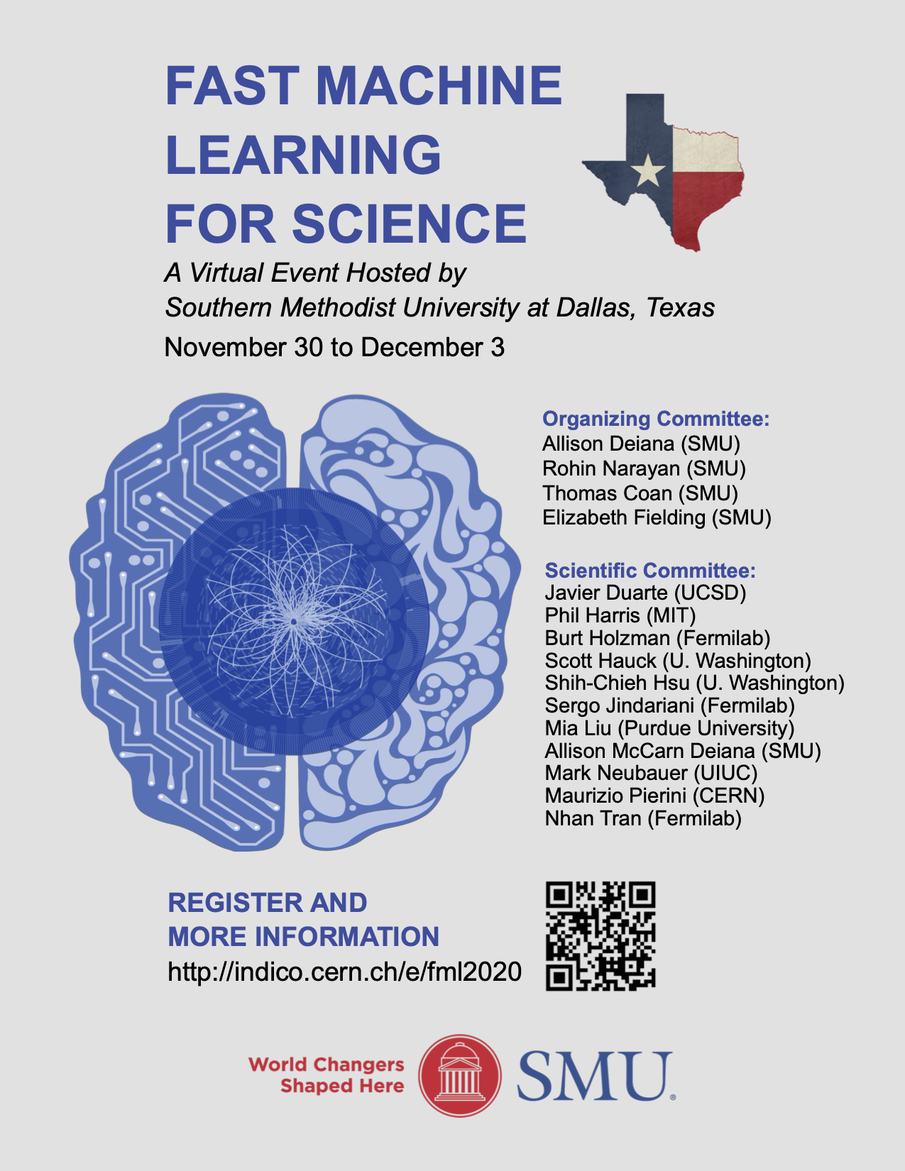 Official Poster for Fast Machine Learning for Science Workshop